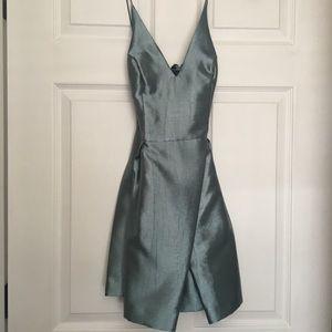 NWOT Topshop Satin Party Dress Size 2